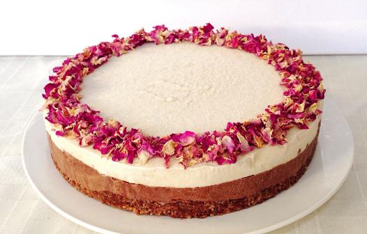 Choc Rose Cheesecake 1